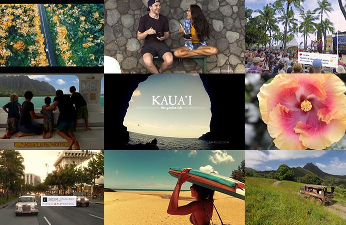 ハワイに行きたくなる動画 7個を紹介