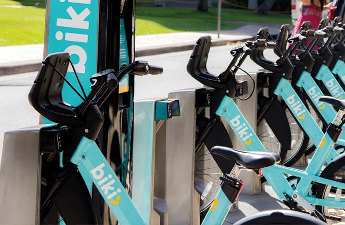 ハワイのレンタル自転車サービス biki を便利に使おう