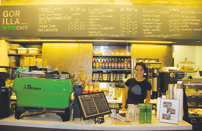 ハワイで大人のお使い ゴリラ・イン・ザ・カフェへ行ってみた
