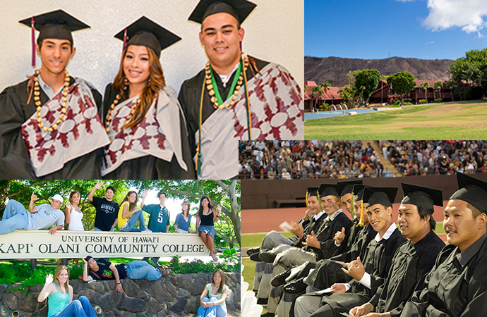 コミュニティカレッジ 卒業までの授業料 – ハワイ大学系列 2021/2022 –