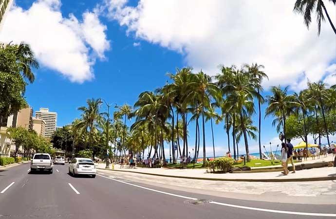 ハワイに行けないなら妄想で!ハワイ ドライブ動画 5つ