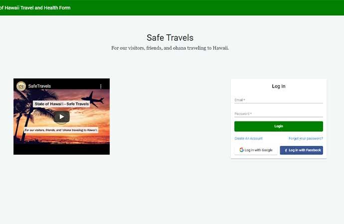 Safe Travel Hawaii